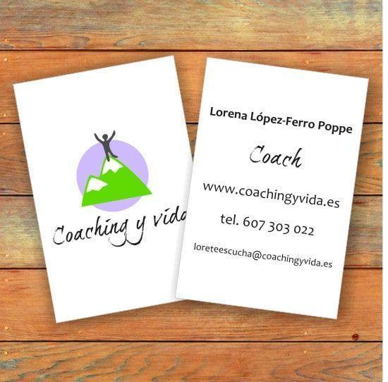 tarjetas de visita coaching y vida