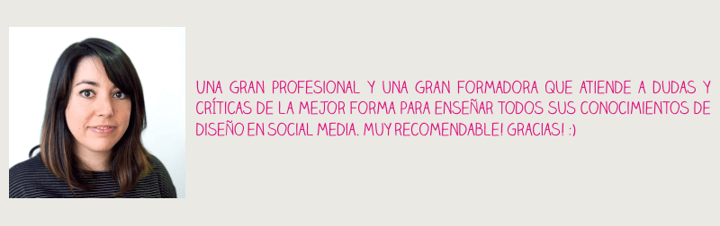 opiniones curso de diseño para redes sociales